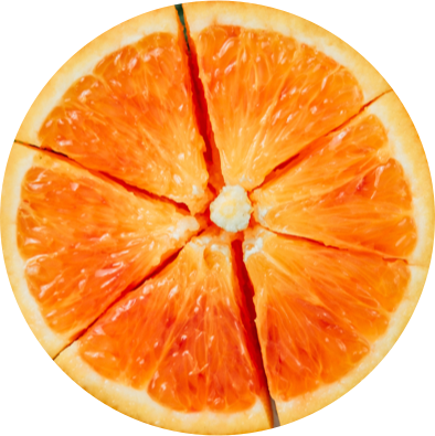 animated spinning image of an orange